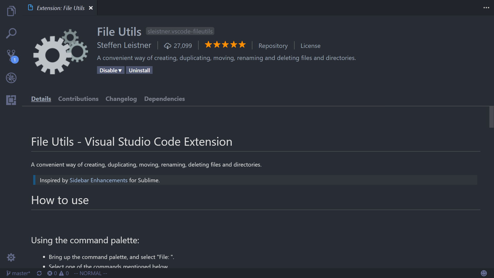 VSCode extensions for Laravel and PHP development
