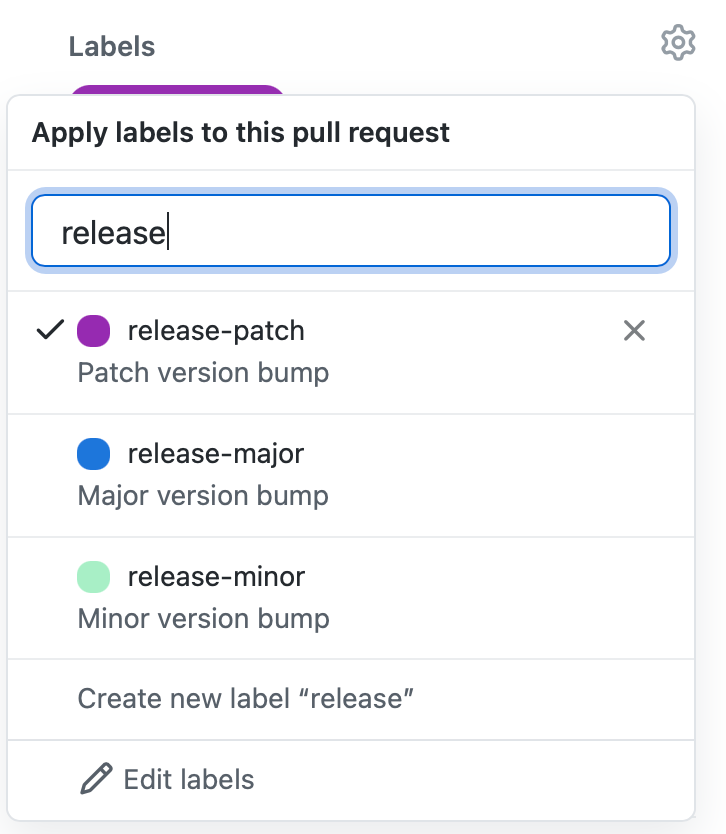 leveraging labels for github pull requests